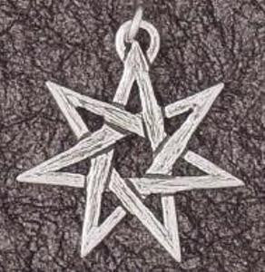 Pendant - Fairy Star - Sterling Silver