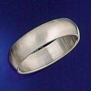 Ring - Brushed Band - Stainless Steel