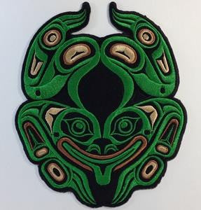 Embroidery Iron On Patch - Frog - Gene Suyu