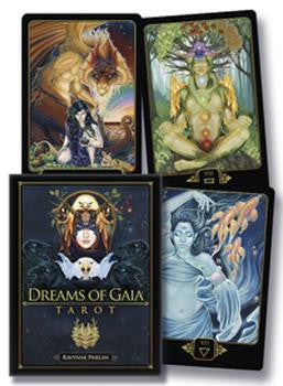 dreams of gaia tarot deck set