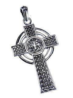 Pendant - Celtic Cross - Sterling Silver