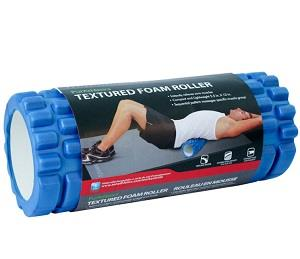 Blue Textured Foam Roller