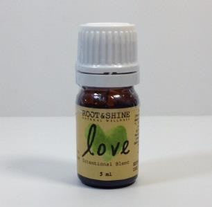Root & Shine - Love - 5ml Organic & Wildcrafted Essential Oil Blend