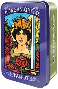 Morgan-Greer Tarot in a Tin