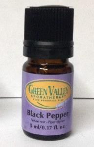 Black Pepper essential oil by Green Valley Aromatherapy