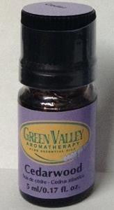 Cedarwood essential oil by Green Valley Aromatherapy