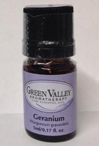 Green Valley Aromatherapy - Geranium - 5ml