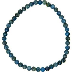 Dumorterite Bracelet 4mm Bead