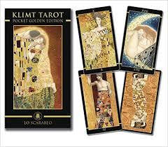 klimt tarot mini deck