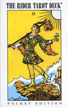 rider-waite tarot deck pocket edtion
