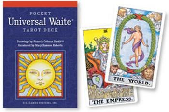 univeral waite tarot deck - pocket edition