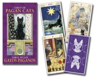 pagan cats mini tarot deck