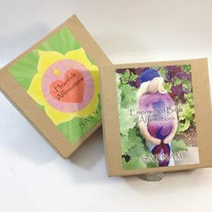affirmation cards by satnam
