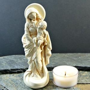 Western Mysteries Statue - Madonna and Child - 5""