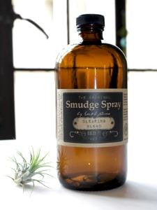 Earth Home -The Original Smudge Spray Clearing Blend - 4oz