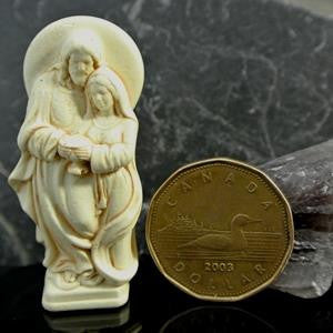 western mysteries statue - divine union pocket blessing - 1.75""