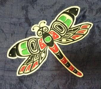 Embroidery Iron On Patch - Dragonfly - Gene Suyu