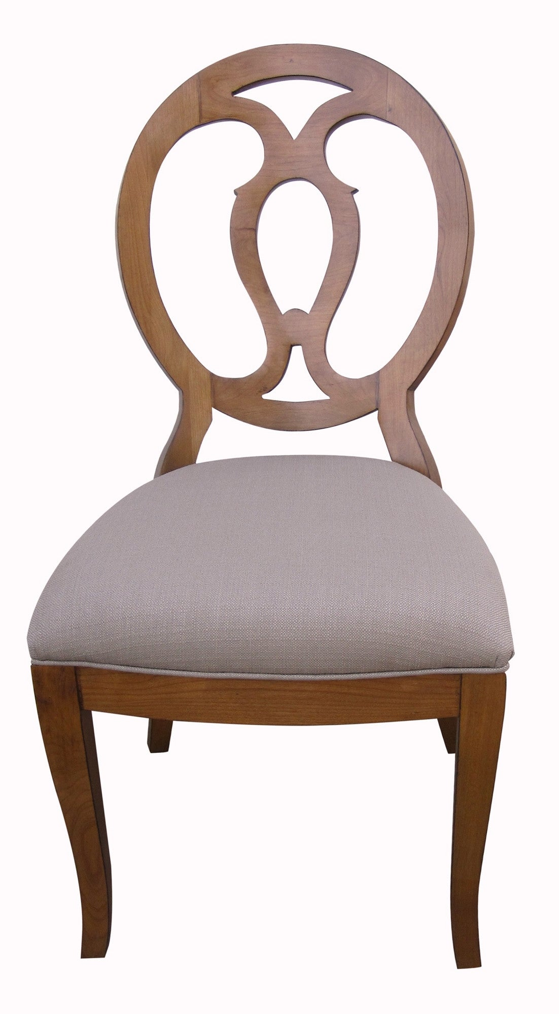 Modern Axiom Open Back Chair