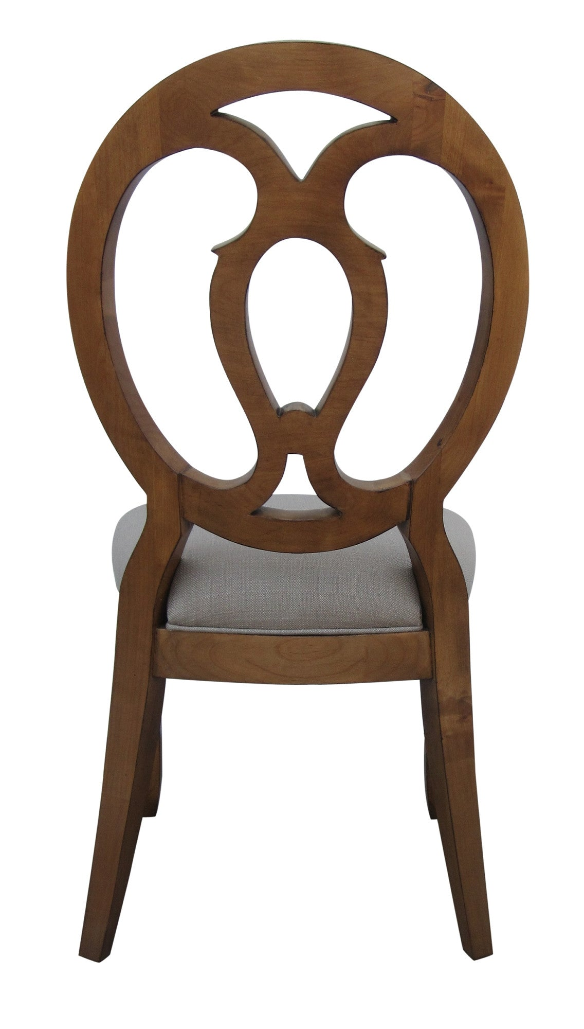 Home Furnishings on Sale Open Back SIde Chair with Upholstered Seat ...