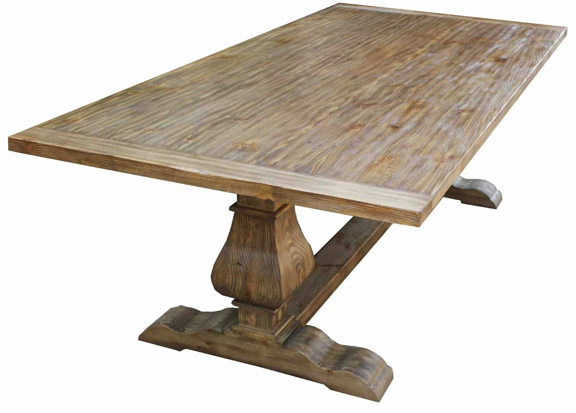 Custom Dining Tables Handmade from Traditional Trestle Tables