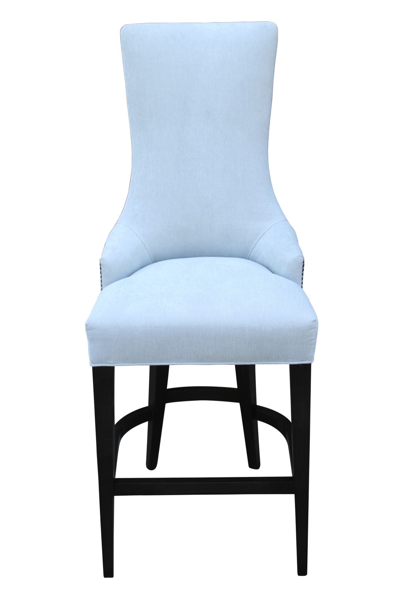 transitional bar height chair