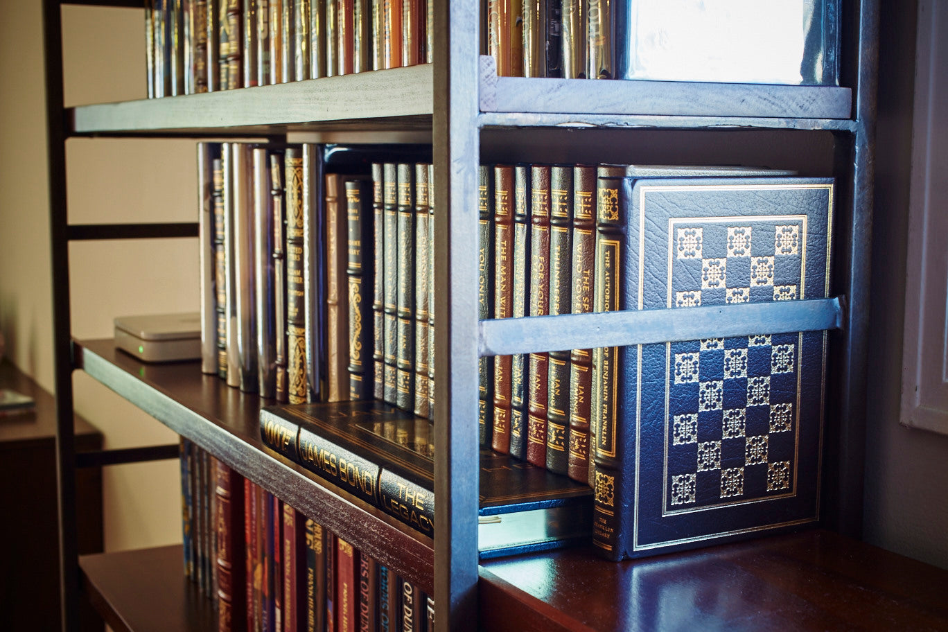 Custom Wall To Wall Bookcases Mortise Tenon