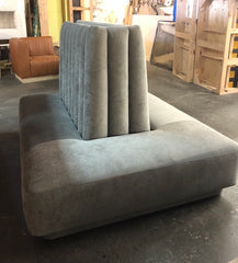 Custom Upholstered Sofa- Benches