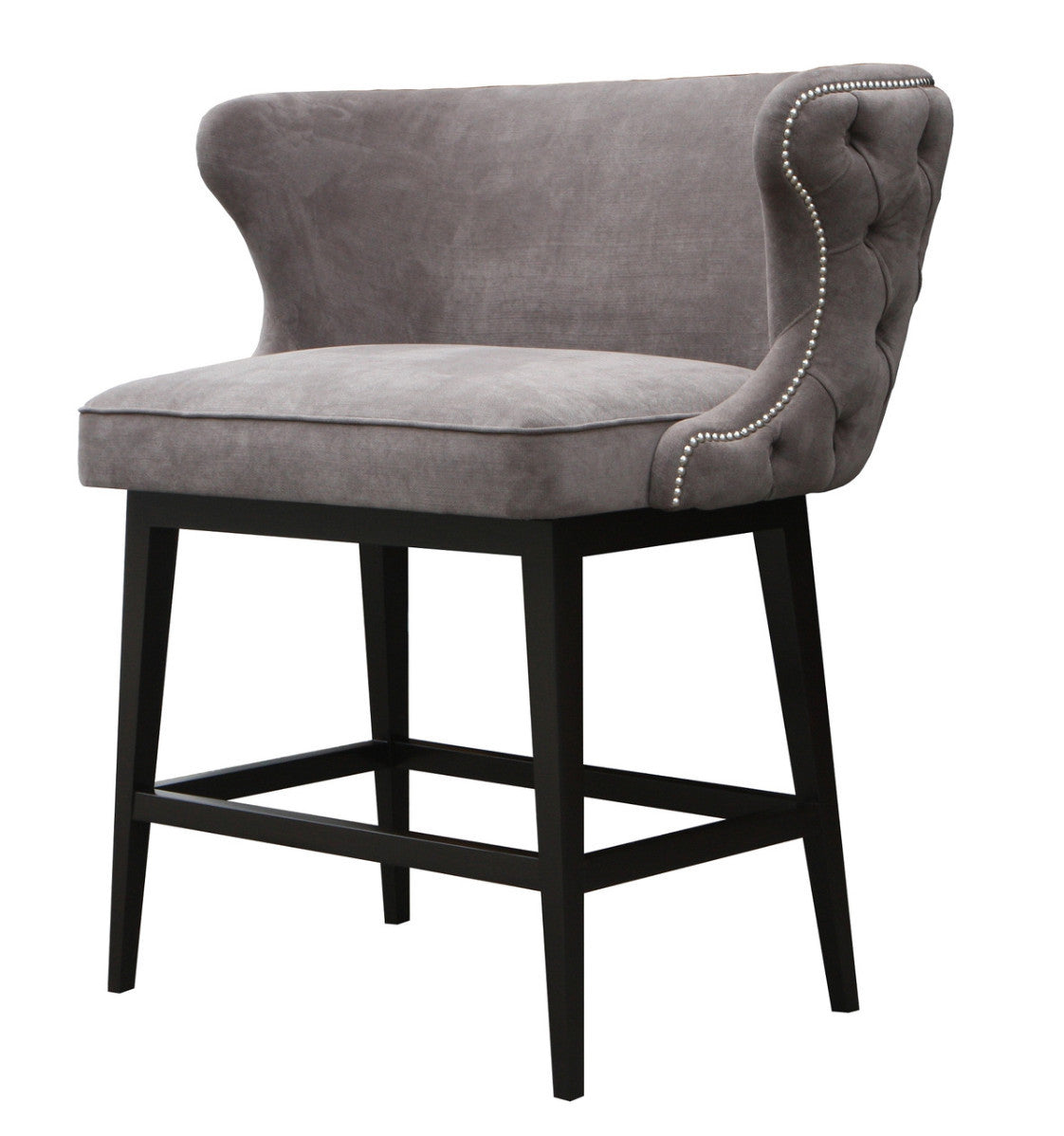 Belair Tufted Bar Stool Bench