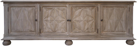 Marisa Weathered Mahogany Sideboard