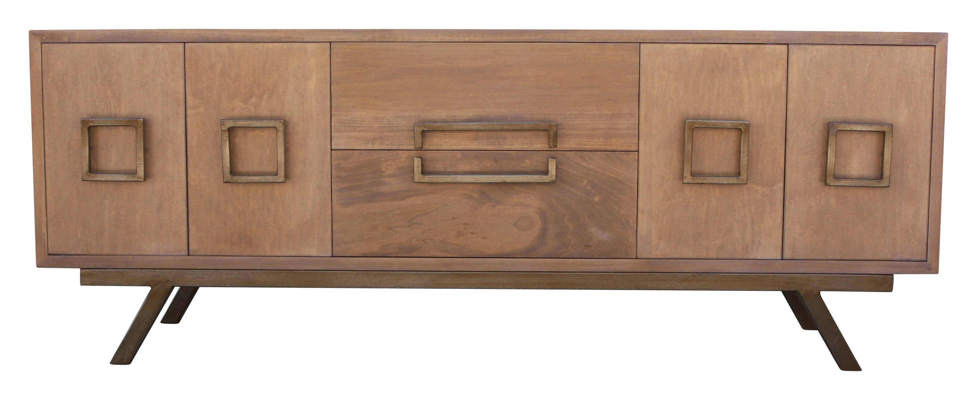 Picture of: Audra Mid Century Modern Credenza Mortise Tenon