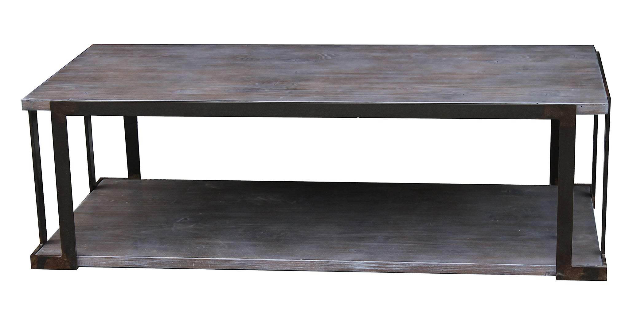 Organic Modern Industrial Coffee Table