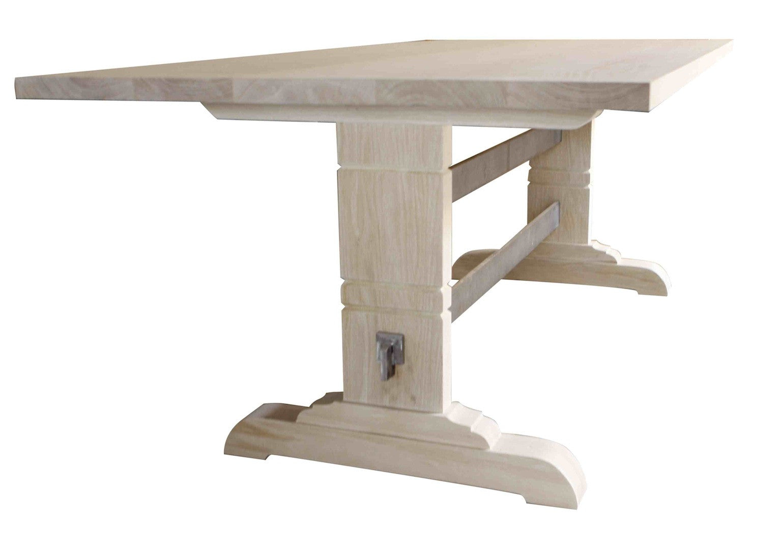 Modern trestle dining table - Montreal Modern Trestle Dining Table Montreal Modern Trestle Dining Table