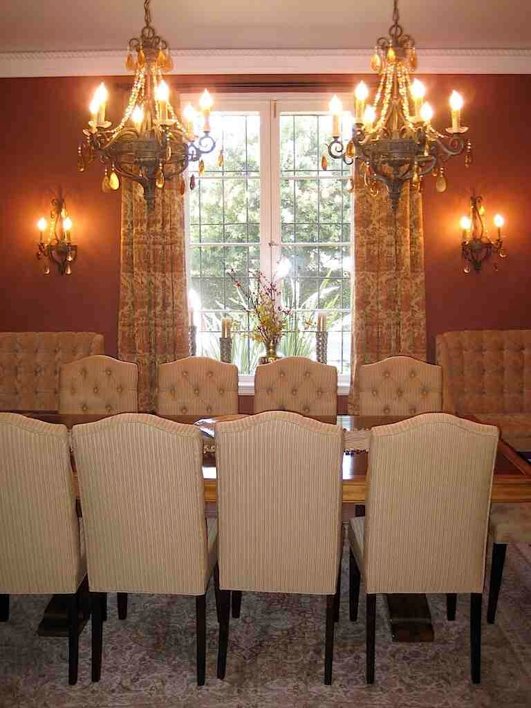 Traditional San Marino 1930 S Home Dining Room Set