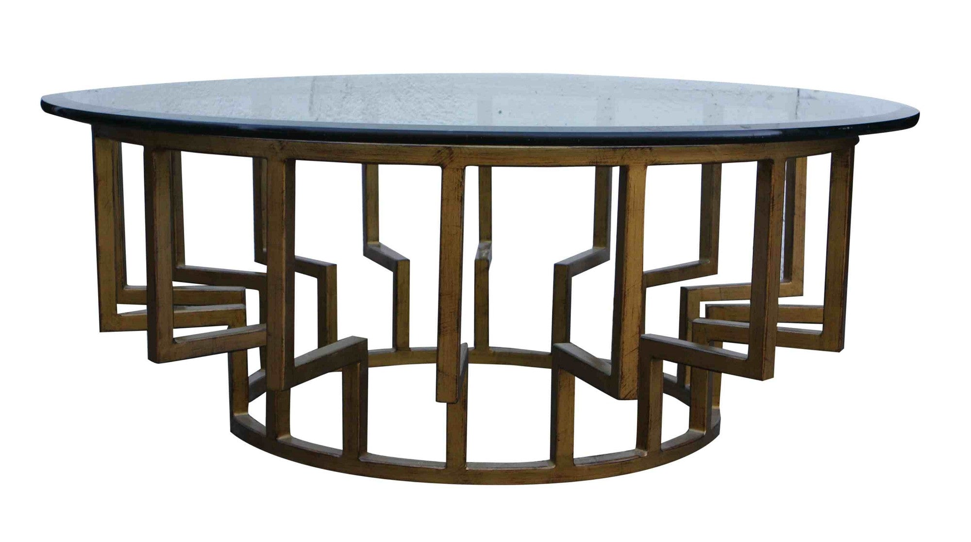 New York Round Modern Coffee Table – Mortise & Tenon