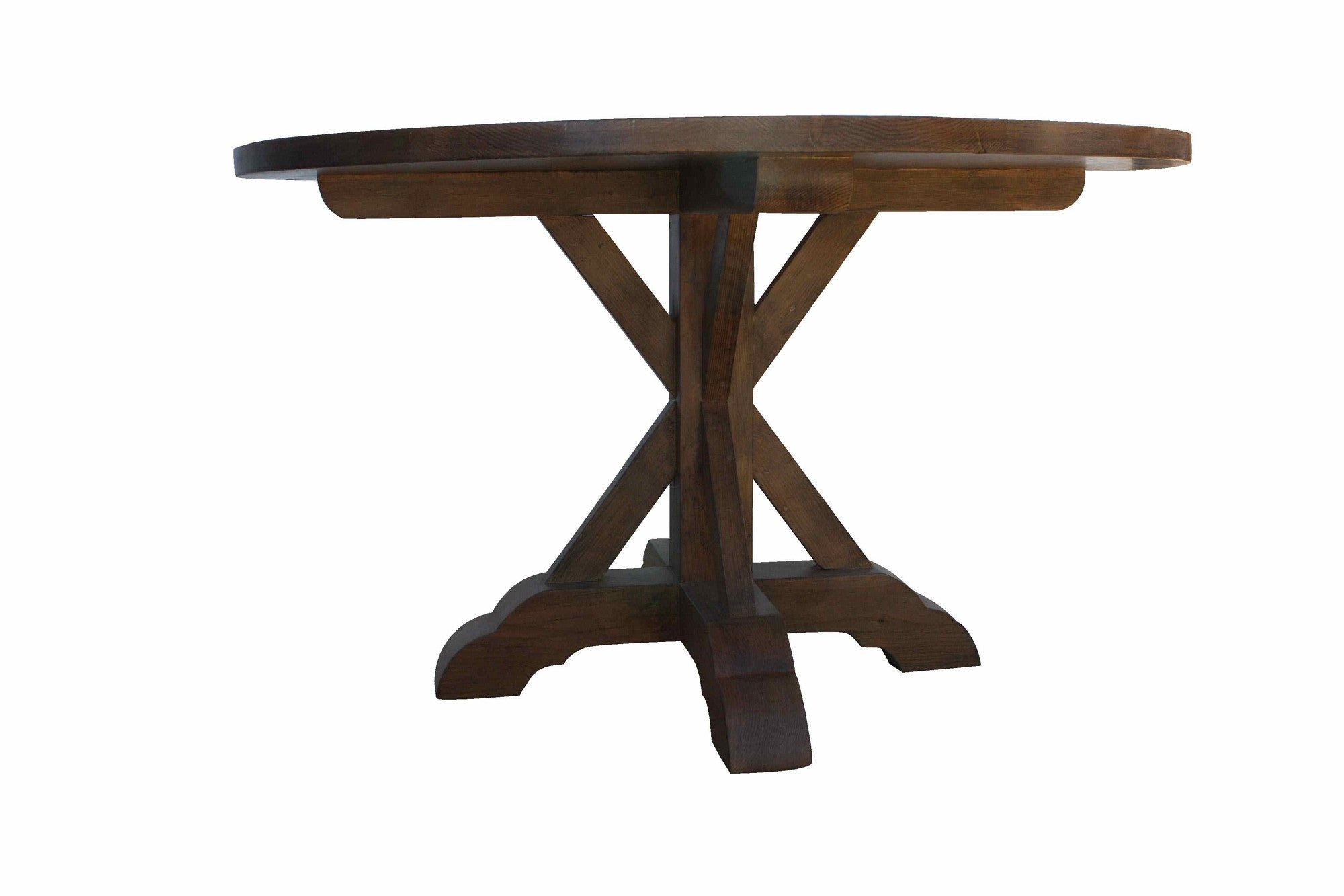 Barnwood Dining Table And Chairs. Elegant And Beautiful Oval Wood ...