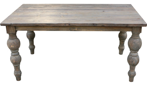 Savannah Reclaimed Wood Dining Table