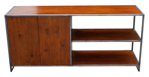 Sylvan Modern Media Bookcase