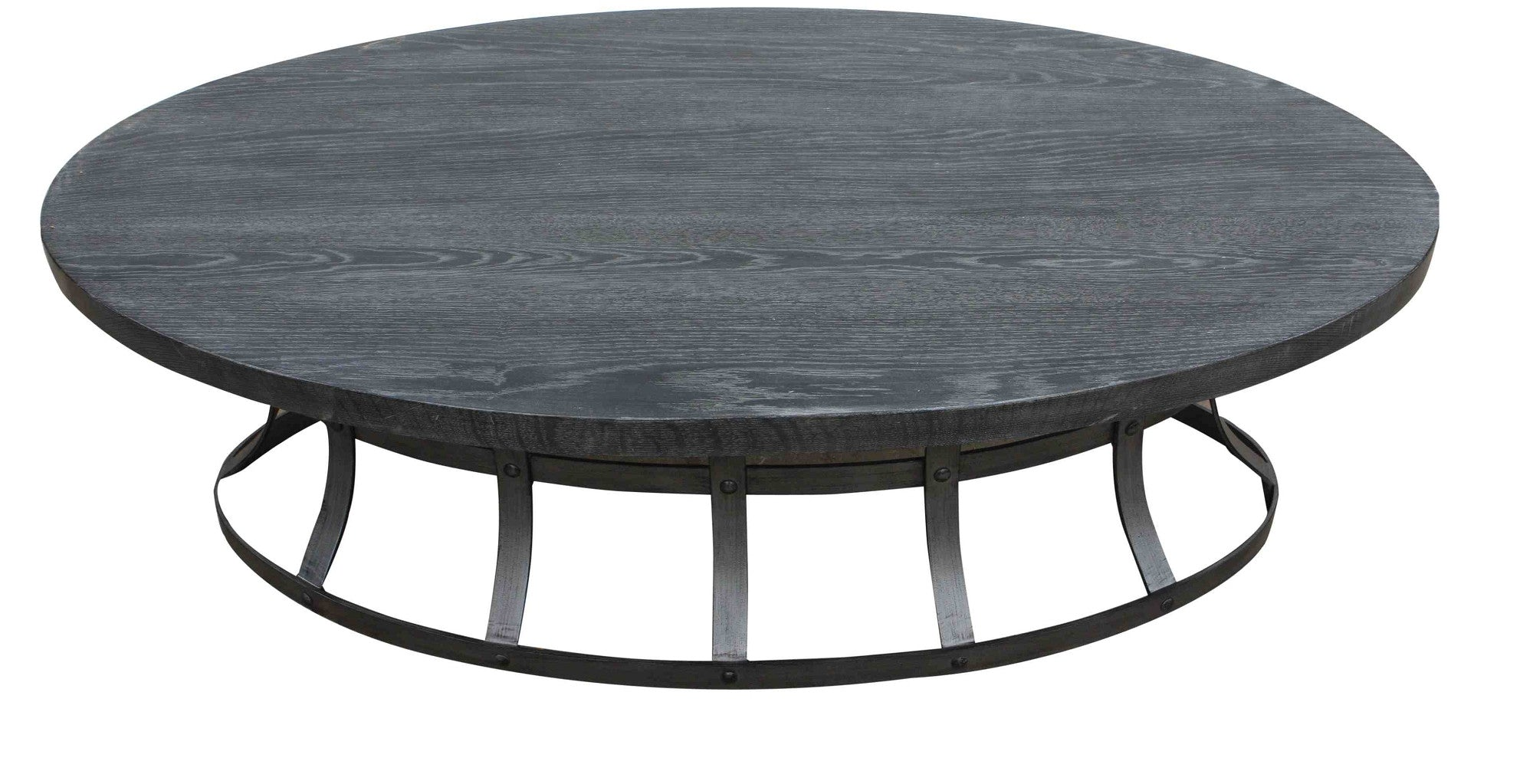 Zuma Grey Oval Coffee Table – Mortise & Tenon