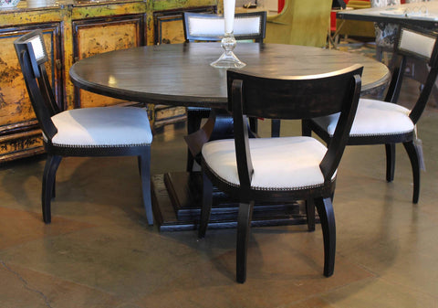 Rustic Modern Dining Room Set