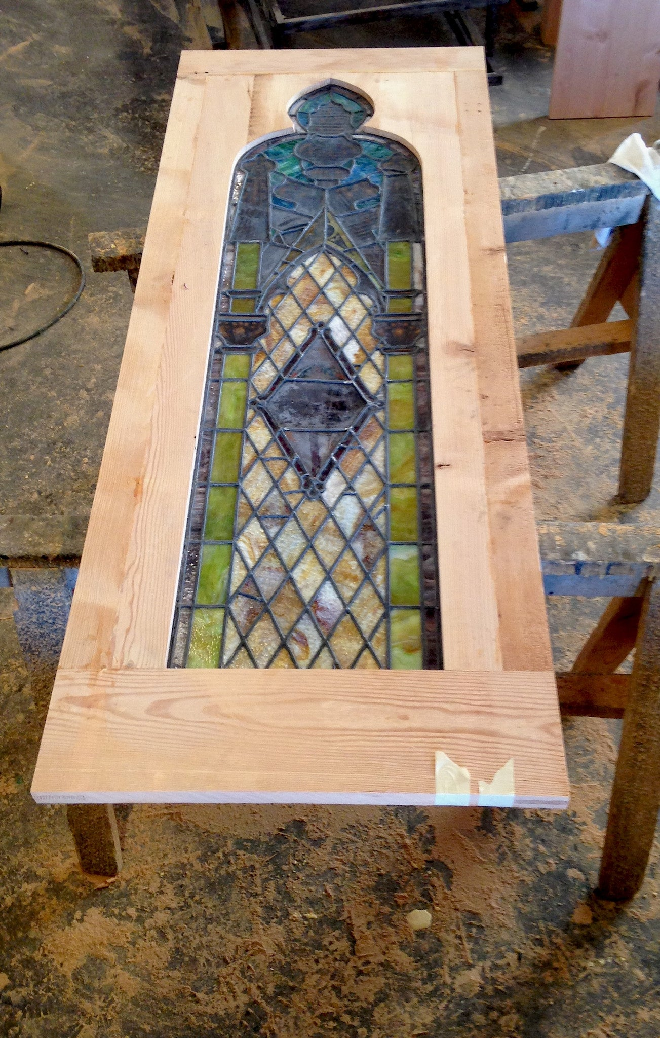 Antique stained glass doors - Antique Stained Glass Custom Doors Antique Stained Glass Custom Doors