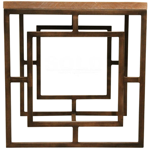 Art Square Side Table