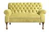 Custom tufted Loveseat