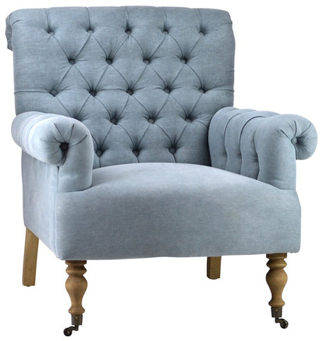 Avery Tufted Arm Chair