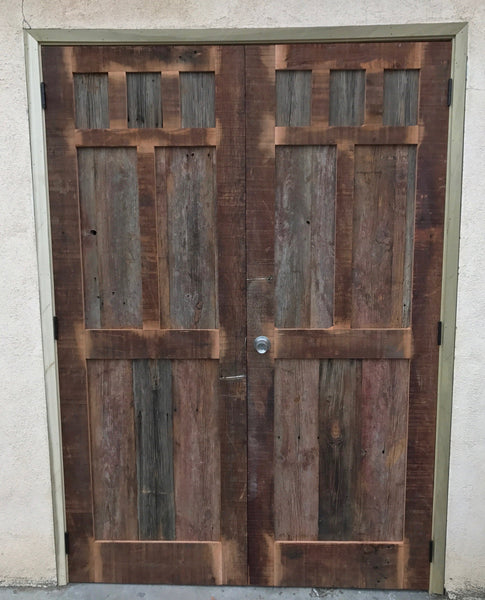 Custom Reclaimed Wood Barn Doors Mortise Amp Tenon
