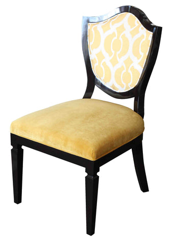 Grand Shield Dining Chair Floor Model
