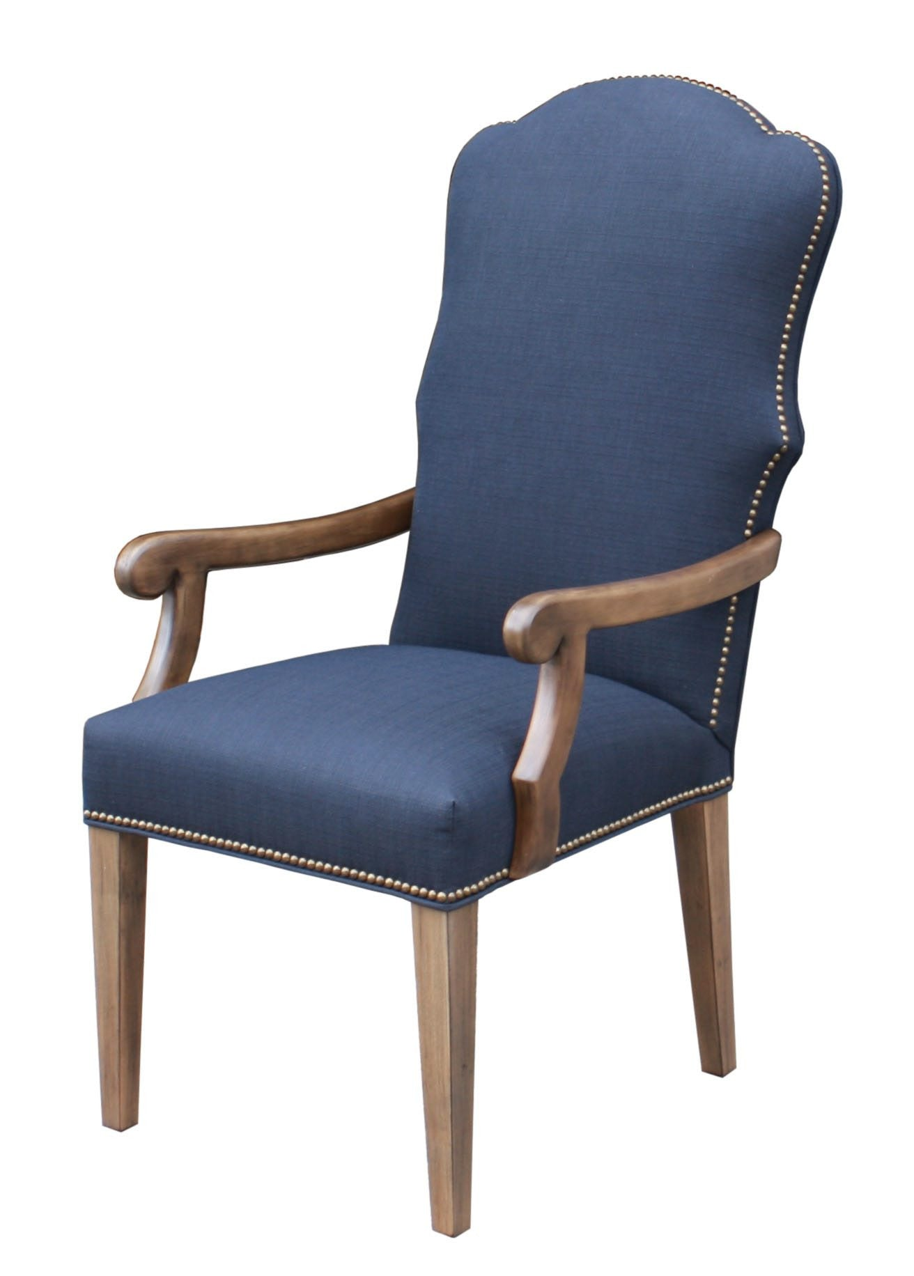 Image gallery high arm chairs for Modern queen anne furniture