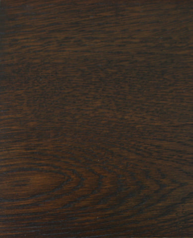 White Oak in a Brown Stain