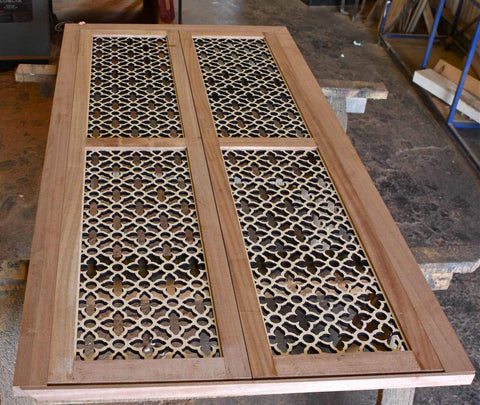 Laser Cut Panels for Doors