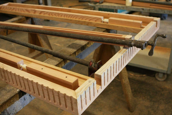 Building The Frame For A Extension Dining Table Mortise
