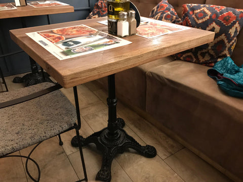 Cast Iron French Bistro Tables